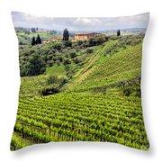 Tuscany-italy Throw Pillow