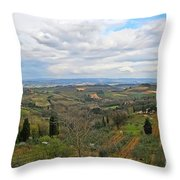 Tuscany Life Throw Pillow
