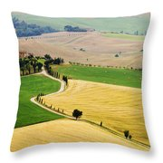 Tuscany Summer Throw Pillow