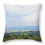 Tuscany's Special Light Throw Pillow