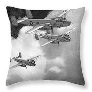 Tuskegee Airman...616th Bombardment Group Throw Pillow