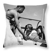 Tuskegee Airmen, C1943 Throw Pillow