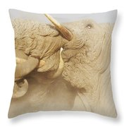 Tusker Tension Throw Pillow