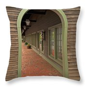 Tuttle's Livery - Concord Throw Pillow