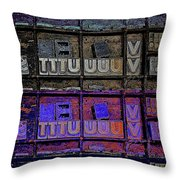 TV Throw Pillow