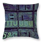 Tv II Throw Pillow