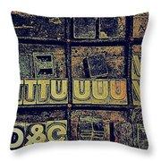 Tv IIi Throw Pillow