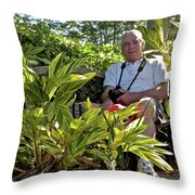 Tw Self Portrait Throw Pillow