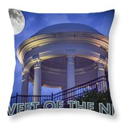 Tweet Of The Night 14 Throw Pillow