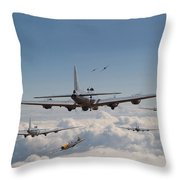 Twelve Oclock High Throw Pillow by Pat Speirs