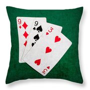 Twenty One 10 Throw Pillow