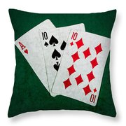 Twenty One 4 - Square Throw Pillow