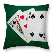 Twenty One 7 - Square Throw Pillow