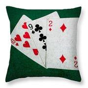 Twenty One 9 - Square Throw Pillow