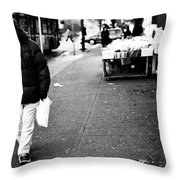 Twenty Two Bottles  Throw Pillow