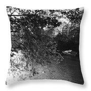 Twickenham River Thames Throw Pillow