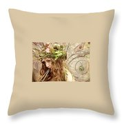 Twig The Fairy  Throw Pillow