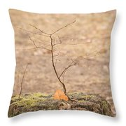 Twigtacular Throw Pillow