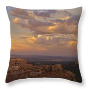Twilight At Bryce 100 Throw Pillow
