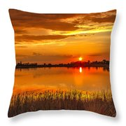 Twilight At The Best Throw Pillow