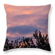 Twilight Beauty Throw Pillow by Sonali Gangane