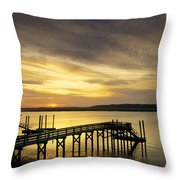 Twilight Color Throw Pillow