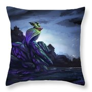 Twilight Hour Throw Pillow