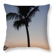 Twilight In Fort Myers Throw Pillow