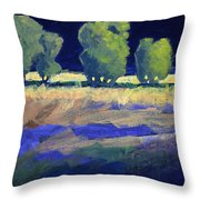 Twilight Landscape Throw Pillow