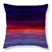 Twilight-night Throw Pillow