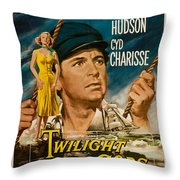 Twilight Of The Gods 1958 Throw Pillow