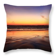 Cardiff By The Sea Glow Throw Pillow