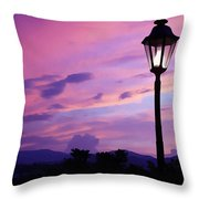 Twilight Time Throw Pillow