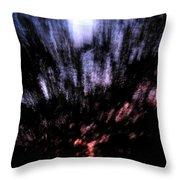 Twilight Tree Travel Throw Pillow