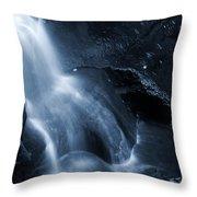 Twilight Waterfall Throw Pillow