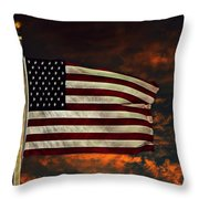 Twilight's Last Gleaming Throw Pillow by David Dehner