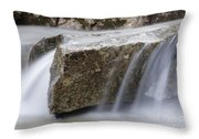 Twin Brook - Albany New Hampshire Usa Throw Pillow