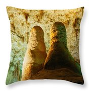 Twin Domes Throw Pillow