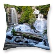 Twin Falls South Carolina Throw Pillow