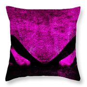 Twin Nude Silhouette Throw Pillow