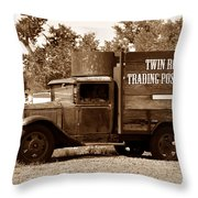 Twin Rocks Trading Post Throw Pillow