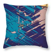 Twins Of Cordierite 3 Throw Pillow