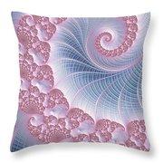 Twirly Swirl Throw Pillow