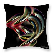 Twisted Abstract 2 Throw Pillow