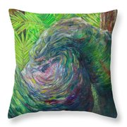 Twisted Branch Throw Pillow