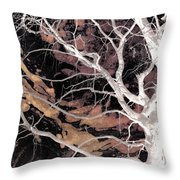 Twisted Dance - Dark Dreams Throw Pillow