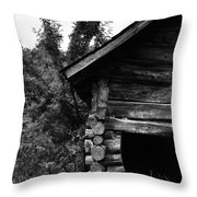 Twisted Hills  Throw Pillow