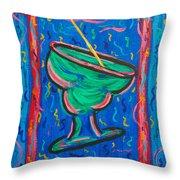 Twisted Margarita Throw Pillow