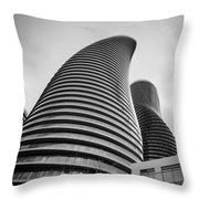 Twisted Sisters  7d01333 Throw Pillow