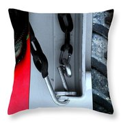 Twisted Sisters Throw Pillow